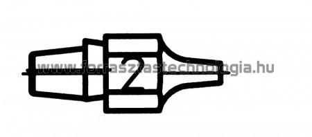 DX-112 Meleglevegős kiforrasztóhegy Weller