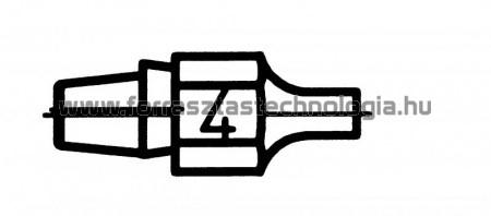 DX-114 Meleglevegős kiforrasztóhegy Weller