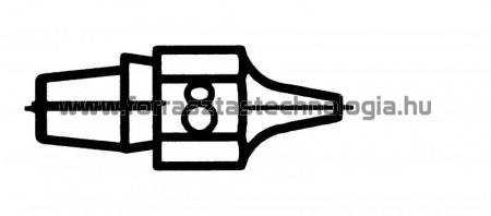 DX-118 Meleglevegős kiforrasztóhegy Weller