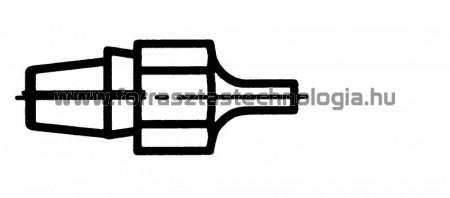 DX-120 Meleglevegős kiforrasztóhegy Weller