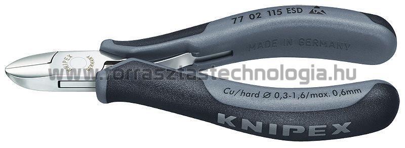 Oldalcsípőfogó Knipex 115mm