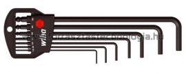 369 H7B Hatszögkulcs készlet gömbvégű Wiha 1,5 - 6 mm