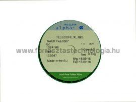 Forrasztó ón ólommentes SACX0307 1 mm / 500 g