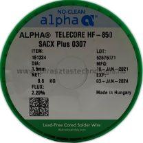 Forrasztóón ólommentes ALPHA SACX Plus 0307 HF-850 1,5mm
