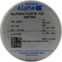 Forrasztóón ólmos ALPHA Sn60Pb40 Fluitin 1532  1,0mm