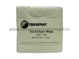 Mikroszálas törlőkendő Techspray Techclean Wipe