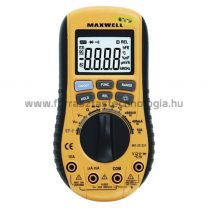 Maxwell digitalis multimeter 25221