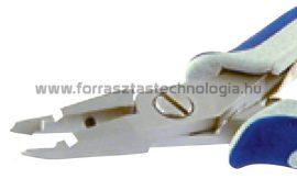 3233 Oldalcsípőfogó ESD 0,1 - 0,8 mm / 136 mm Megatec