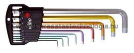 369 H9F Hatszögkulcs készlet színes gömbvégű Wiha 1,5 - 10 mm