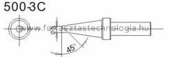 500-3C Pákahegy Quick 3 mm 45 °