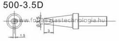 500-3,5D Pákahegy Quick 3,5 x 1,5 mm