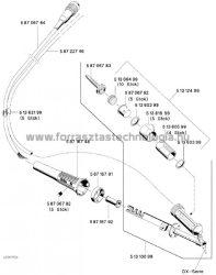 Kábel DSX 80 pákához