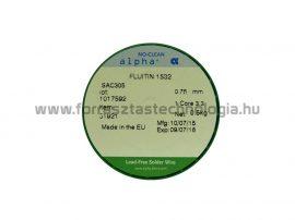 Forrasztó ón ólommentes SAC305 0,75 mm / 500 g