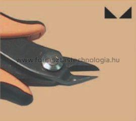 TRE-03NB Műszerész oldalcsípőfogó Piergiacomi 138 mm