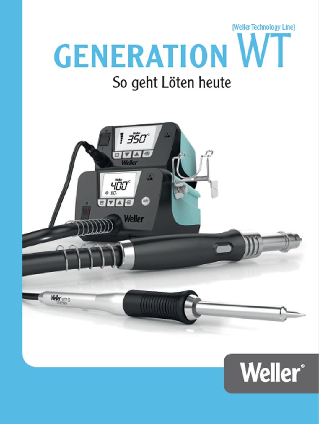 Weller WT termékcsalád bemutató katalógus
